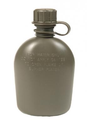 Plastic Bottle Olive